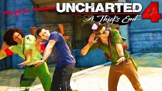 Uncharted 4: Running Man & Random Funny Moments!