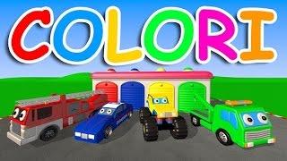 Impara i colori con i mezzi stradali - AlexKidsTV