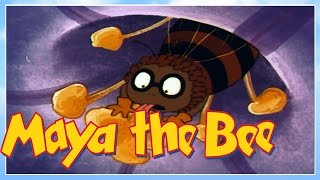 Maya the bee - Episode 6 - Maya And The Spider Thekla - Classic Series