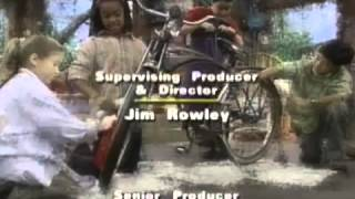 Closing to Barney Round and Round We Go 2002 VHS