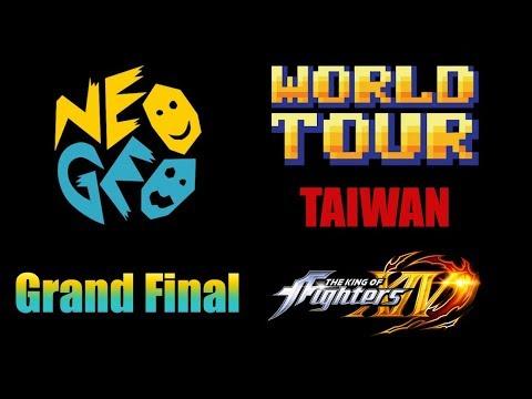ZJZ vs E.T.  Grand Final KOF XIV NEOGEO WORLD TOUR TAIWAN