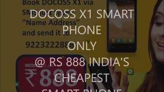 DOCOSS X1 SMART PHONE