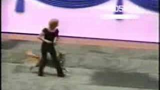 Dog dancing to grease song 'your the one that I want'