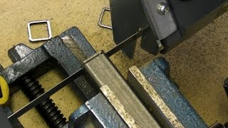 Homemade Portable Bandsaw Stand - Cut off & Vertical - Part 1