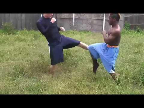 Whiteboy wins violent street fight