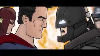 BAT BLOOD SPEEDY VERSION - A BATMAN VS SUPERMAN BAD BLOOD PARODY