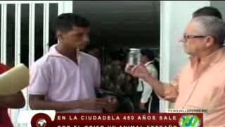 Un extraño amimal salió de un grifo en una casa del barrio 450 años de Valledupar
