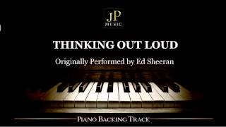 Thinking Out Loud by Ed Sheeran (Piano Accompaniment)