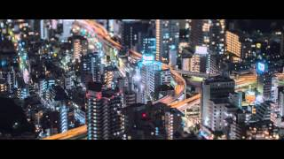 Tiny Tokyo time lapse 2014 by Night