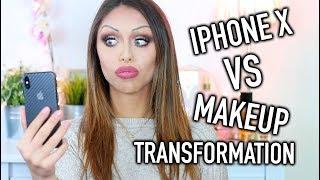 FACE ID vs MAKEUP TRANSFORMATION!! IPHONE X ALLA PROVA!!