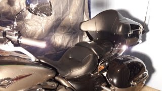 removing trunk and saddlebags