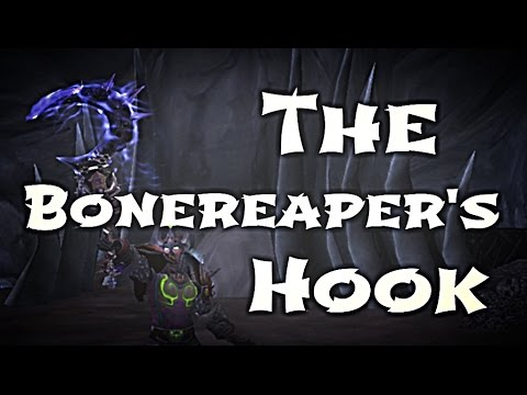 WoW Guide - Unholy Deathknight Hidden Artifact Appearance - The Bonereaper's Hook