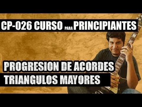 CP 026 PROGRESIONES DE ACORDES TRIANGULOS MAYORES
