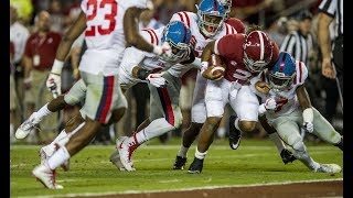 Alabama vs. Ole Miss Highlights 2017 (HD)