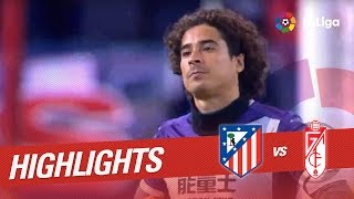Resumen de Atlético de Madrid vs Granada CF (7-1)