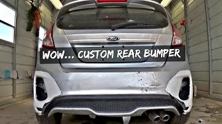 Making Custom Bumper for the Fiesta ST