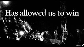 Slipknot   'Til we die lyrics on screen