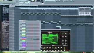Martin Garrix ft. Usher - Don't Look Down (FL Studio 11)