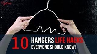 10 Hangers Life Hacks Everyone Should Know | TOPTIP