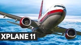 XPLANE 11: Start im neuen FLUGSIMULATOR mit der Boeing 737-800!