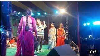 Retesh Panday and Amrita Dixit stage show Dhaka more Banka Bihar