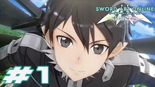 Sword Art Online: Lost Song - English Walkthrough Part 1 Opening & Tutorial [HD]