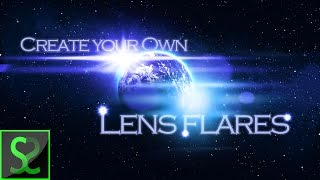 How to create own lens flare | Photoshop tutorial