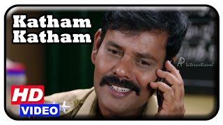 Katham Katham Tamil Movie | Scenes | Vinod is attacked | Sanam Shetty gets engaged to Nandha