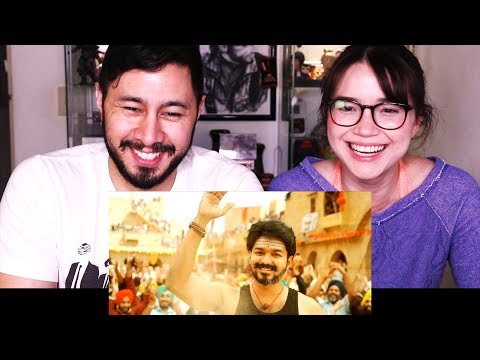 MERSAL | Most Likes on a YouTube Trailer?!? | Vijay | A R Rahman | Tamil | Reaction!