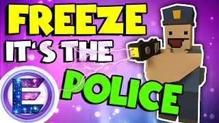 Freeze it's the police! - Don't make me use this taser - Police RP - Unturned RP ( Funny Moments )
