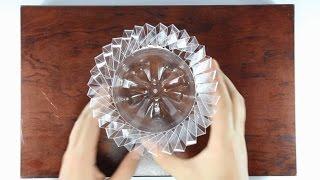 How to make flower vase from plastic bottles