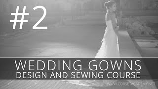 How to make a WEDDING DRESS? #2