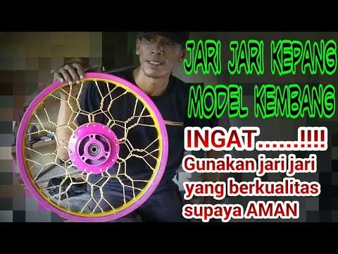 Velg kepang kembang buat kontes modifikasi motor  harian EXTREME VELG by Mr.JACK #8