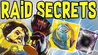 Destiny 2 - NEW PRESTIGE RAID SECRETS REVEALED! Secret Calus Letter, The Darkness, & Evil Speaker