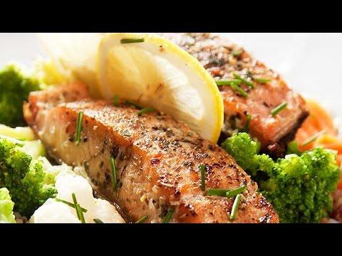C mo hacer salm n al cilantro y lim n how to make for Como cocinar salmon plancha