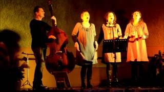 Les Sages Voleuses, concert organisé par l'AJAVE le 30 novembre 2014