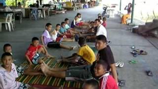 Creative English teaching for slum kids