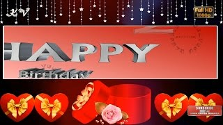 Happy Birthday Best Wishes, Whatsapp Video, Free Download, Greetings, Messages, Animated Quotes