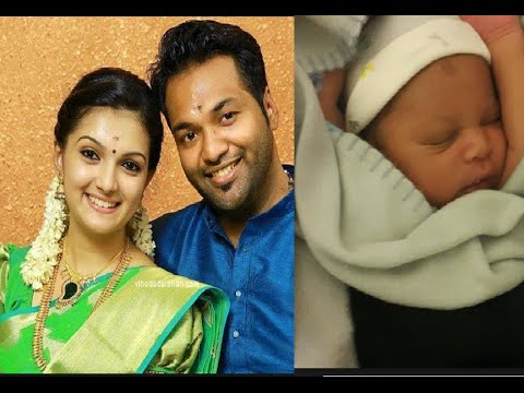 Actress Saranya Mohan Blessed with Baby Boy