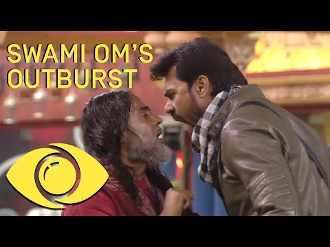 Xxx Mp4 Swami Om S Shocking Outburst Bigg Boss India Big Brother Universe 3gp Sex