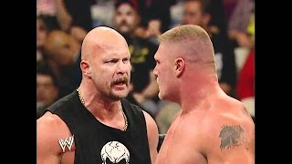 Goldberg vs Brock Lesnar - Wrestlemania 20 | World Wrestling Entertainment YT