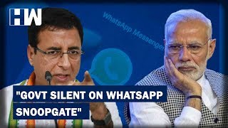 download free Headlines: Congress slams government over WhatsApp snooping of Journalists, Activists