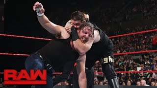 Dean Ambrose vs. Kevin Owens - Champion vs. Champion Match: Raw, April 10, 2017