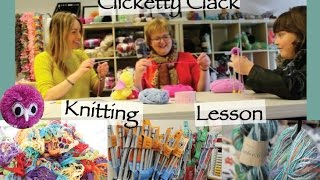 Learning To Knit With Tracy Kiss And Mary Clements