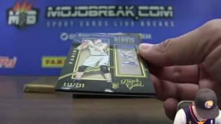 5/20 - 2016-17 Panini NBA Black Gold 4 Box Half Case eBay Break PYT #7