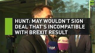 Hunt: May wouldn