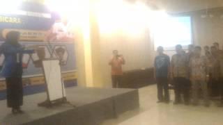 Video, Suasana Seminar Sehari Bersama Ir.H.Abdul Latif (Ketua KKMP)