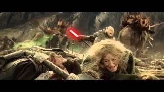 Aragorn and Gimli kill Gothmog