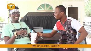 Arnold Interviews TINNY on Vibes In 5