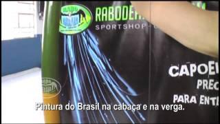 Berimbau Brasil, Pintura exclusiva Rabodearraia.com